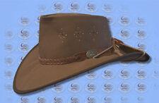 DIAMANTINA Australian Outback W/proof CANVAS CUTANA HAT