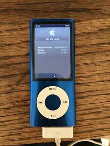 Apple iPod nano 5th Generation Blue (8GB)