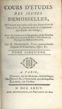 Cours d'études des Jeunes Demoiselles/Abbé Fromageot/Tome 5/Histoire/1774