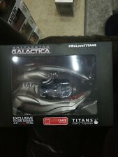 "BNIB Titans Scar Cylon Raider Battlestar Galactica vinyl figure 4.5/"" Exclusive"