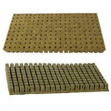 100pcs Plant Starter Plugs Cubes Rockwool Hydroponic Grow Media Propagation Cube