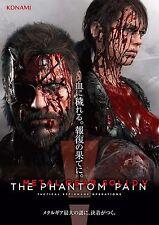 "Metal Gear Solid V 5 The Phantom Pain Silk Poster Wall Decor 12x17"" MGS18"