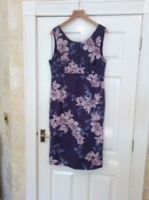 Long Tall Sally Cotton Summer Dress Uk 14 Vgc (0)