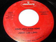 Jerry Lee lewis: Home Away From Home / There Must Be More To Love Than This 45