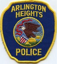 old vintage ARLINGTON HEIGHTS ILLINOIS IL POLICE PATCH
