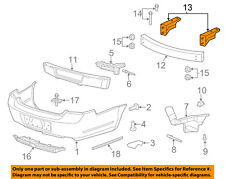 Chevrolet GM OEM 11-16 Caprice Rear Bumper-Mount Bracket Left 92176410