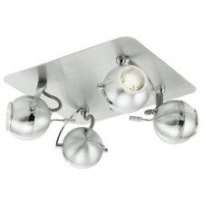 EGLO 89329 Lampe x Wand 4 Scheinwerfer 40w G9 Modell SEVO 220v ip20 Chrom neu