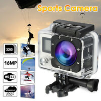 4K WiFi 1080P FHD Waterproof Sports DV Action Camera Video Camcorder for Go Pro