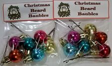 Christmas Secret Santa Novelty Mens Xmas Present Baubles For Beards Decorations