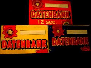 - Datenbank - Datenbanken- DBs ADP Merkur freie Auswahl - AT DBs  im Austausch -