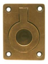 Maritime Nautical Solid Brass Flush Door Hatch Handle Pull