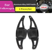 Black Steering Wheel Shift paddle Shift Extension For VW Volkswagen CC Teramont