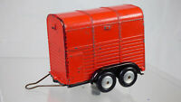 Vintage 1960s  Corgi Toys red No.102 Rice Pony Trailer Land Rover Diecast Toy