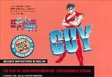 ***FINAL FIGHT GUY SNES SUPER NINTENDO GAME COSMETIC WEAR~~~