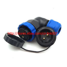 SD20 IP67 2pin Connector Industrial Power Cable Plug LED Waterproof Connector