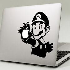 """Super Mario Apple Macbook Decal Sticker encaja 11"""" 12"""" 13"""" 15"""" y 17"""" Modelos"""