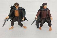 Hobbit Lord of the Rings Figure - Frodo Baggins & Merry Brandybuck- Hobbit