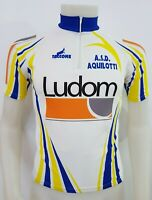 MAGLIA SHIRT CICLISMO A.S.D. AQUILOTTI TAG.42 CYCLING ITALY MAILLOT BICI MB291