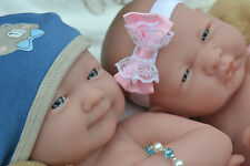 PJs ❤ BERENGUER LA NEWBORN ❤ ANATOMICALLY CORRECT TWIN DOLLS FOR REBORN / PLAY