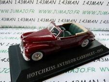 AUT3M 1/43 IXO altaya Voitures d'autrefois : HOTCHKISS Anthéor cabriolet 1953