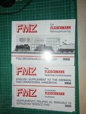 Fleischmann  FMZ - handbook plus translation into English and Italian