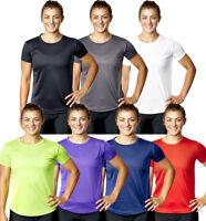 Camiseta Top Mujer en Forma SPORTS Ejercicio Atletismo Active Ropa Chica