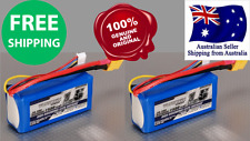 2 Pack Turnigy 1500mAh 3S 20C 7.4v Lipo Pack Battery RC Plane Helicopter Lithium
