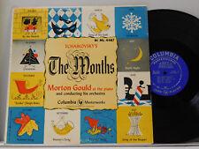 Morton Gould LP Tchaikovsky's The Months   Columbia VG++