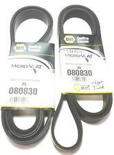 "Napa ""Micro V"" Serpentine Belt 25-080830 [Lot of 2] NOS"
