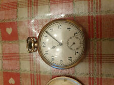 Swiss Made 7 Jewels Barclay Mechanical Wind Up Vintage Pocket Watch