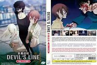ANIME DVD ENGLISH DUBBED Devil's Line(1-12End)All region FREE SHIPPING+FREE GIFT