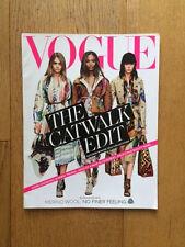 Vogue UK The Catwalk Edit Autumn/Winter 2014 Burberry Prorsum Cara Jordan Edie