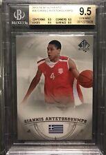 2013-14 SP Authentic Giannis Antetokounmpo Rookie Bgs 9.5 True Gem Mint W Subs