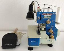Overlock Nähmaschine  JUKI  STROBEL  Baby Lock EF - 405   3 Faden   sgt.Zustand