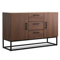 47 in Buffet Sideboard Storage Cabinet Server Table Console Kitchen Dining Room
