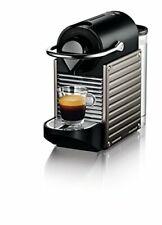 Breville-Nespresso Pixie Programmable Espresso Coffee Maker Machine Titan
