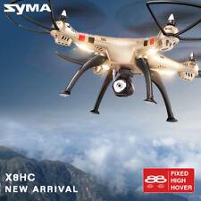 Syma X8hc 4ch 6-axis Gyro RC Quadcopter Drone 2mp HD Camera UAV RTF UFO
