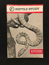 Boy Scouts of America, Merit Badge Series, Reptile Study, 1981 Printing of 1972