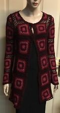 Wool Blend Hand-wash Only Medium Knit Geometric Jumpers & Cardigans for Women