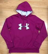UNDER ARMOUR STORM Hoodie Womens Size Large Purple And Powder Blue