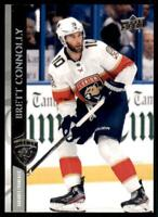 2020-21 UD Series 2 Base French #329 Brett Connolly - Florida Panthers