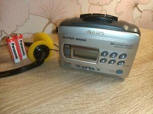 SERVICED Aiwa TX386 Personal Stereo Cassette Player Radio NEW BELTS Walkman