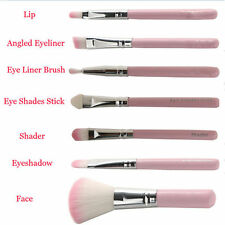 Professional Makeup 7pcs Pink Brush Eye&Face Set Brushes Cosmetic Brush Tool hot