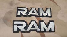 (2) 1983-1991 Dodge Ram Ramcharger Logo Badge OEM