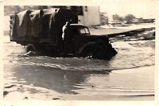 Deutscher LKW Ford bei Wasser Überschwemmung Ostfront