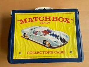 Matchbox Lesney Superfast - 48 Car Collectors Carry Case
