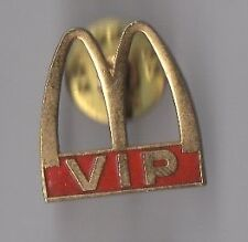 Pin's Mac Donald's VIP