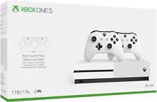 Xbox One S 1TB Konsole - Bundle inkl. 2. Controller NEU OVP