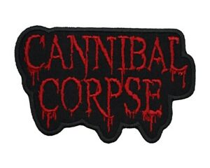 Cannibal Corpse Patch Death Metal Band Logo