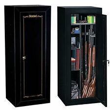 Gun Cabinet Fully Convertible Steel Security Firearms Vault Safe 18 gun Locker
